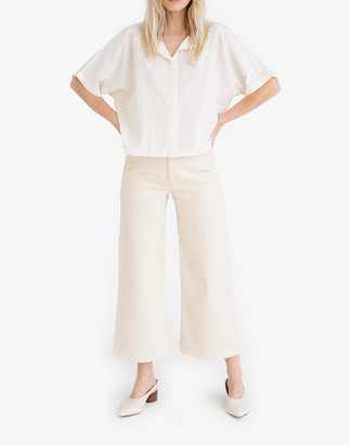 Madewell Tribe Alive Cotton Poplin Button-Up Shirt
