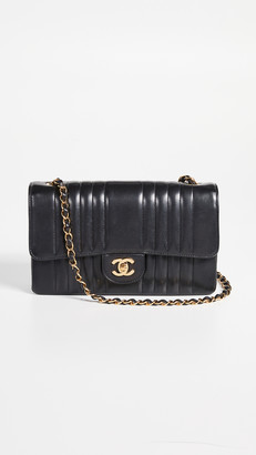 """What Goes Around Comes Around Chanel Vertical 10"""" Flap Bag"""