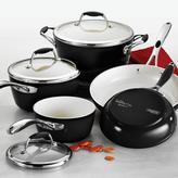 Tramontina Gourmet Ceramica Deluxe 8-Piece Cookware Set in Metallic Black