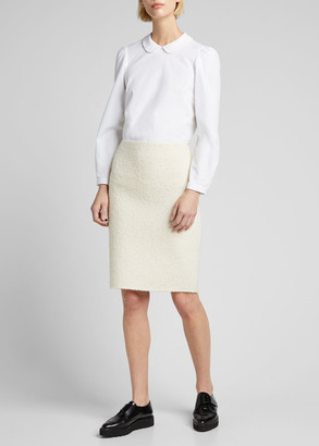 MARC JACOBS, RUNWAY Boucle Knit Pencil Skirt