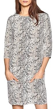 Equipment Aubrey Printed Silk Dress