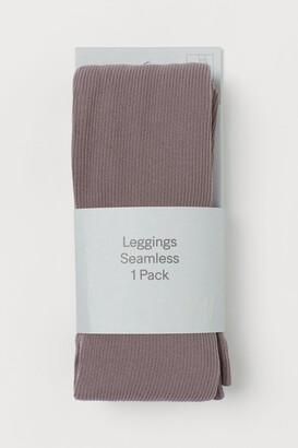 H&M Seamless Ribbed Leggings