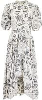 Alexander McQueen Shell Print Dress