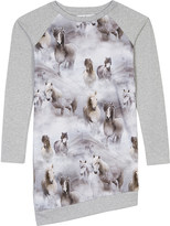 Molo Cindalle horse print cotton dress 3-14 years
