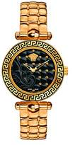 Versace Women's VQM050015 Vanitas Micro Analog Display Swiss Quartz Gold Watch