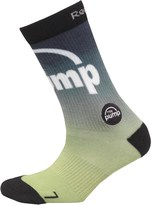Reebok ZPump Run Print Socks Semi Solar Green