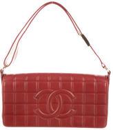Chanel E/W Chocolate Flap Bag