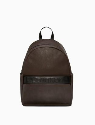 Calvin Klein Bartley Micro Texture Campus Backpack