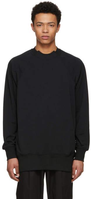 Y-3 Black French Terry Sweatshirt