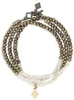 Armenta Old World Triple Wrap Bead Bracelet