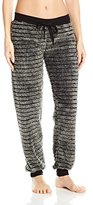 PJ Salvage Women's Cozy Stripes Pant