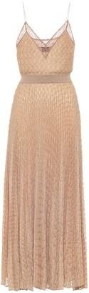 Missoni Lame knit midi dress