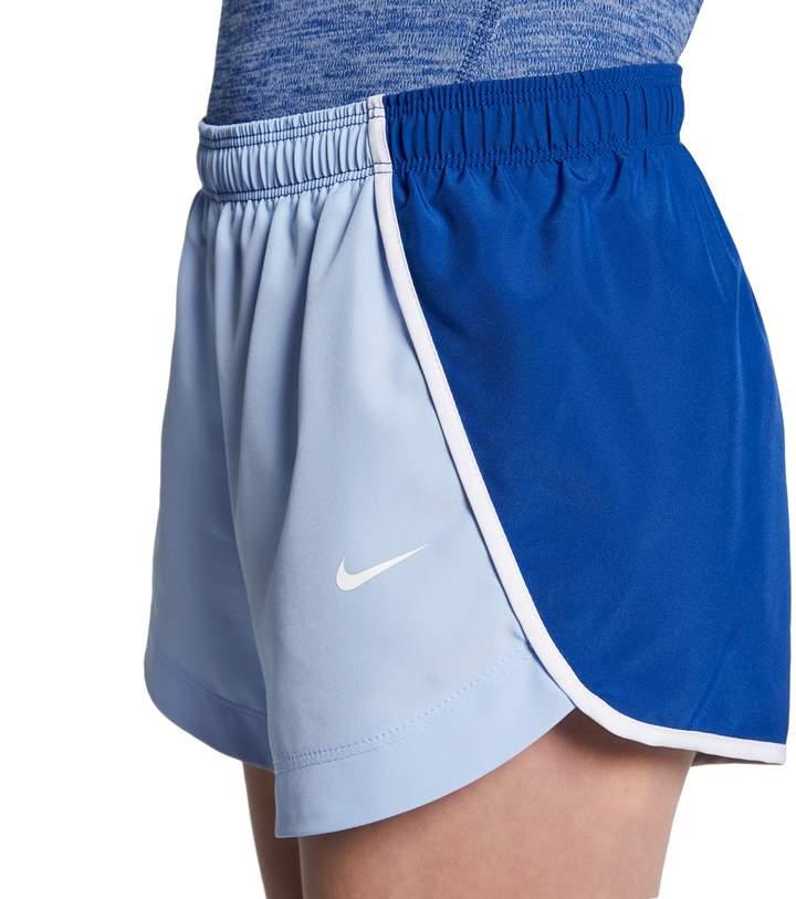 new arrival 3ede6 0bdcd Nike Blue Girls  Shorts - ShopStyle