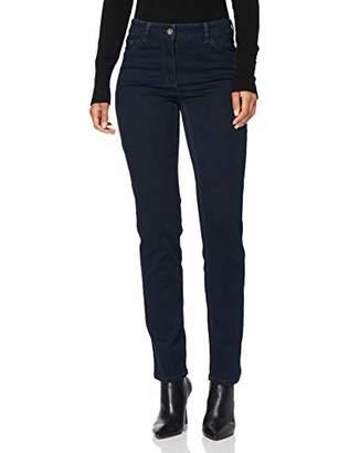 Gerry Weber Women's 92307-67930 Straight Jeans, (Dark Blue Denim 86800)