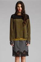 Gold Hawk Menswear Lace Skirt