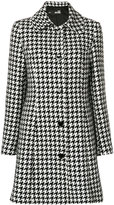 Love Moschino houndstooth print coat