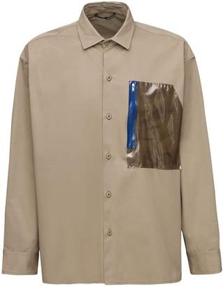A A   Artica Arbox Cotton Shirt W/ Pvc Pocket