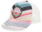 Billabong Girl's Shenanigans Trucker Hat - Pink