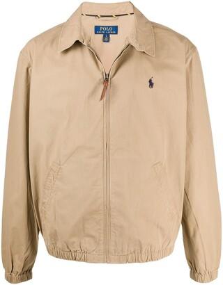 Polo Ralph Lauren Zip-Up Logo Shirt Jacket