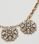 LOFT Round Crystal Necklace