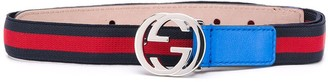 Gucci Kids Interlocking-G Web belt
