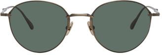 Mr. Leight Gold Antique Mulholland Sunglasses
