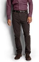 Classic Men's Straight Fit 14-wale Corduroy 5-pocket Jeans-Chocolate Ganache