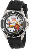 Iron Man Marvel Comics Men's W000508 Honor Rubber Strap Watch