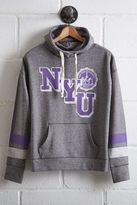 Tailgate Women's NYU Violets Cowl Neck Hoodie