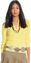 Polo Ralph Lauren Waffle-Knit Henley Shirt