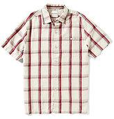 Tommy Bahama Short-Sleeve Plaid With A Twist Woven Silk Shirt