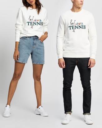 Lacoste L!VE Vintage Tennis Sweatshirt