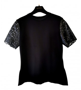 Louis Vuitton Black Lace Tops