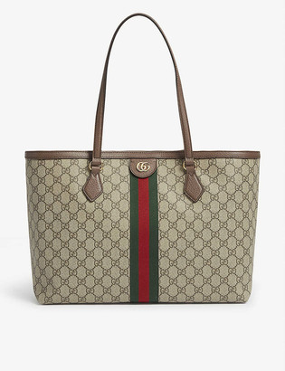 Gucci Ophidia medium GG Supreme canvas tote bag