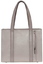Mackage Sela Leather Tote Bag In Mineral