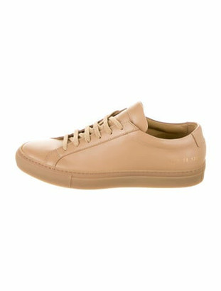 Common Projects Leather Sneakers Brown