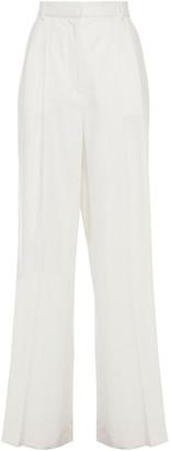 Joseph Benton Linen-blend Wide-leg Pants