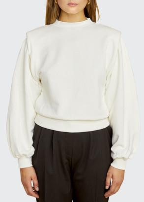 LES COYOTES DE PARIS Alison Statement Shoulder Sweater