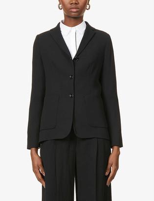 S Max Mara Badess wool-blend blazer