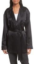 Robert Rodriguez Women's Silk Satin Robe Jacket