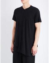 Yohji Yamamoto Asymmetric Cotton Top