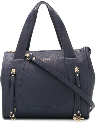 Liu Jo Boston logo tote