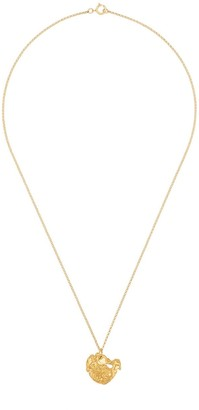 Alighieri Rabbit 24K yellow gold-plated necklace