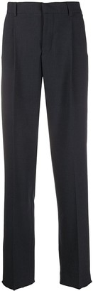 Zadig & Voltaire Frayed Trim Tailored Trousers