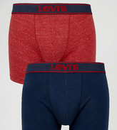 Levi's Levis Trunks In 2 Pack Navy Red