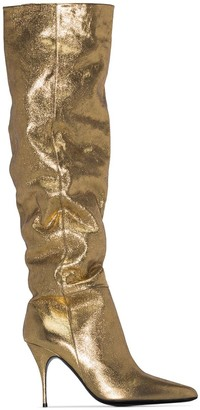 Zimmermann slouch 100mm heeled boots