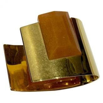 Celine Gold Metal Bracelets