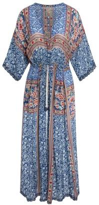 Johnny Was Ocia Printed Slip Dress