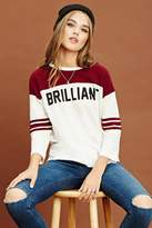 Forever 21 Brilliant Graphic Top