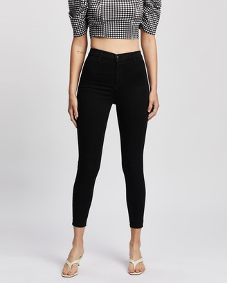 Topshop Joni Super High Waisted Skinny Jeans